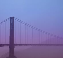 Golden Gate Bridge by Jarede Schmetterer