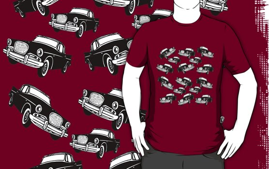 Black Cadillac T-Shirt by simpsonvisuals