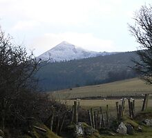"""Snowcap"" Comeragh Mountains,Co.Waterford. by Pat Duggan"