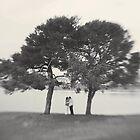 kiss under the tree by brightfizz