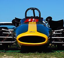 Lotus Formula 1 open wheel race car by Paul Marotta