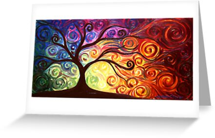 The Tree of Passion by Abstract D'Oyley