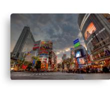 Shibuya • Tokyo • Japan Canvas Print
