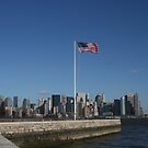 New York City Skyline by Susan Russell
