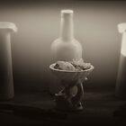 White Vases with Alligators by scarletjames