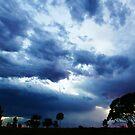 Cloudy Ending- Boulder, Western Australia by Ashli Zis