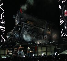 ACDC on stage by Carol Field