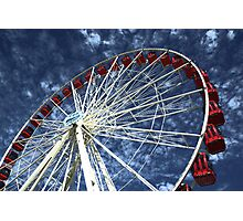Sky wheel Photographic Print