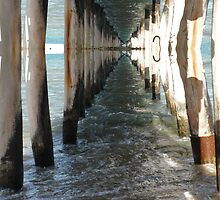 Under The Pier.. Mirrored by judygal