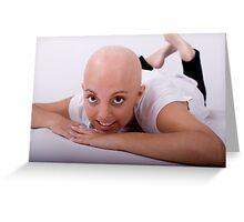 """Hey Australia.... support """"Shave for a Cure"""" any way you can!!! Greeting Card"""