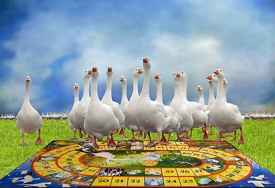 Game of the Goose II by LarsvandeGoor