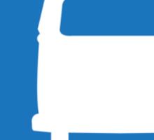 VW Bay Window Bus Camping Sticker
