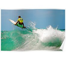 HUNGRY SURFER ! Poster