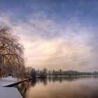 Tranquility At The Mere by PbArtworks