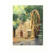 Old Mill at Berry College Art Print