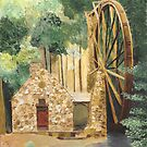 Old Mill at Berry College by Rodney Campbell