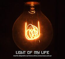Light Of My Life by Martín Alejandro Carmona Selva