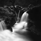 Placerville Waterfall  by nkorompilas