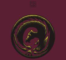 Dragon Circle Oriental by Rustyoldtown