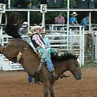 Bronc Riding by DrCharlie