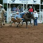 Steer Wrestling by DrCharlie