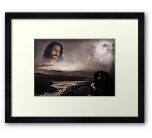 Praise in the Storm Framed Print
