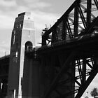 Sydney Harbour Bridge - B&W by lu138