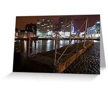 The Docks Liverpool Greeting Card