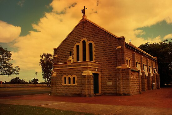 Church of the Immaculate Conception, Dardanup, WA by Elaine Teague
