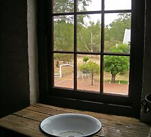 Window to the past by Stacey Pritchard