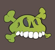 Comical Skull by Stevie B
