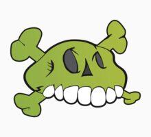 Comical Skull Kids Clothes