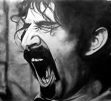 Frank Zappa Pencil Portrait by morfland
