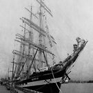 Russian Tall Ship ~ Kruzenshtern by RobertCharles