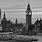 An evening on the Thames.  by Lydia Griffiths