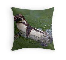Splashing Around Throw Pillow