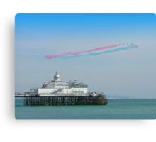 Red Arrows Eastbourne Canvas Print