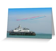 Red Arrows Eastbourne Greeting Card