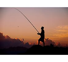 SEASCAPE FISHING Photographic Print