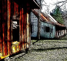 Ghost Town 02 by NatureGreeting Cards ©ccwri