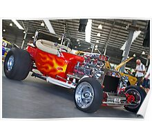 Red Hot T Bucket Poster