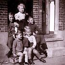 Nostalgia - me and the kids next-door.  by Ozcloggie