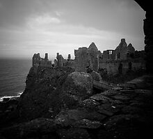 Dunluce Castle by Rob Beckett