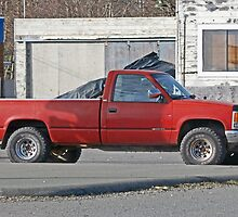 Stolen Red Pickup #4 by Bryan D. Spellman