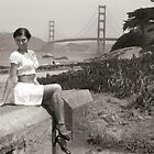 Golden Gate Pinup Girl by MissAudrey