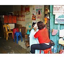 The Beauty Saloon Photographic Print