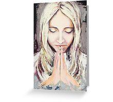 A Prayer... Greeting Card
