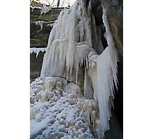 Curtains of Ice Photographic Print