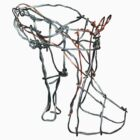Wire shoe by paula cattermole