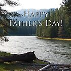 Happy Father's Day-Selway River by Kathleen  Bowman